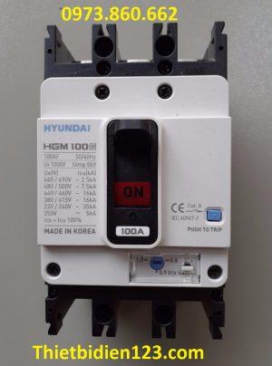HGM 100E 3P 100A