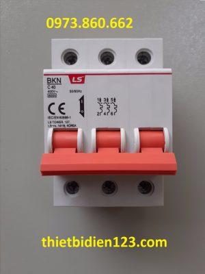 MCB LS 3P 40A