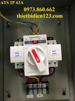 Tủ chuyển nguồn ATS 2P 63A