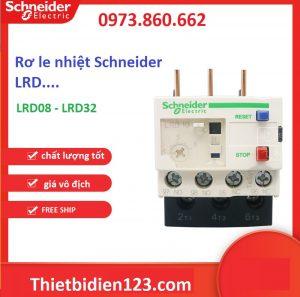 Rơ le nhiệt schneider LRD