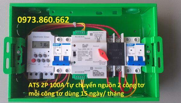 Tủ ATS 2P 100A