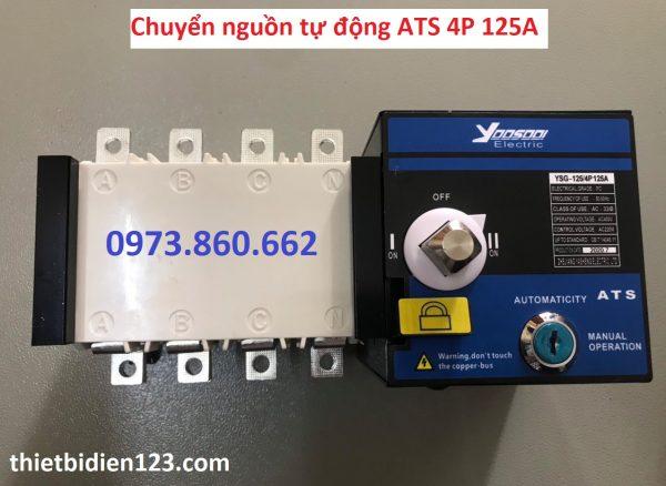 chuyển nguồn tự động ATS 4P 125A