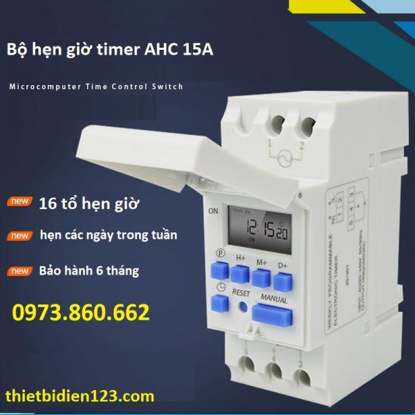 công tắc hẹn giờ AHC15A