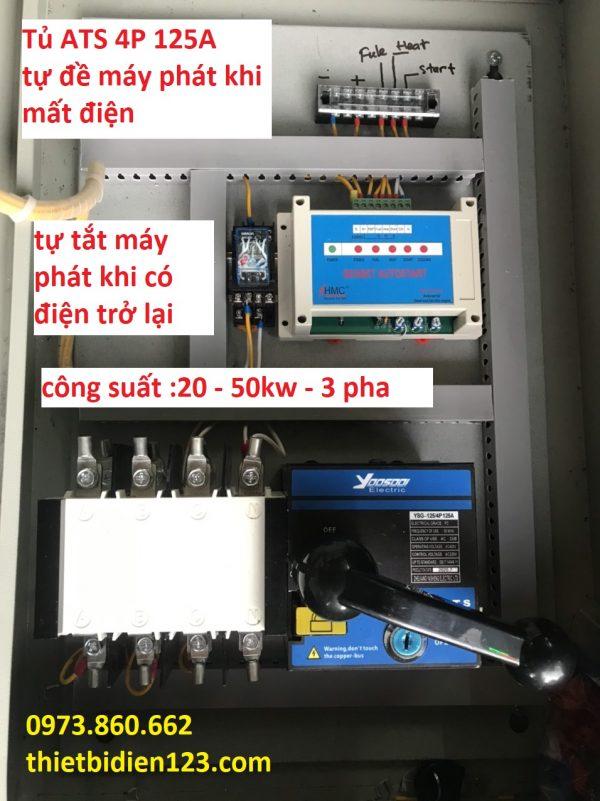 đề máy phát khi mất điện