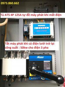 Tủ đề máy phát khi mất điện