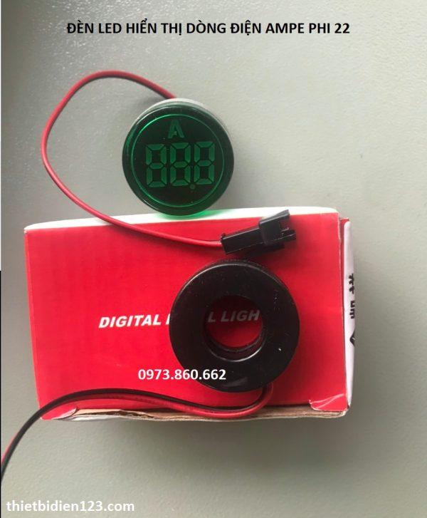 đèn LED hiển thị ampe