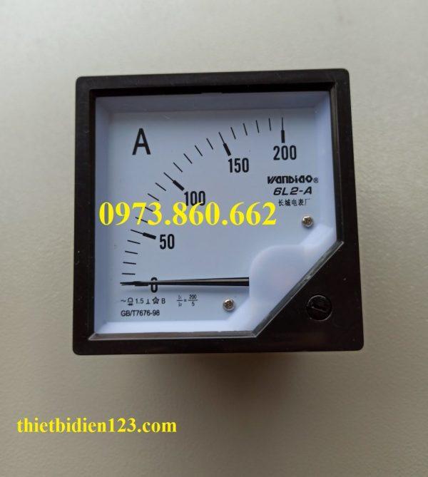 Đồng hồ hiển thị dòng điện