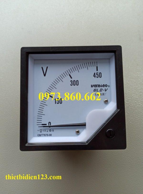đồng hồ đo vôn