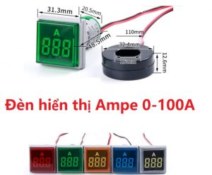 Đồng hồ đo Ampe